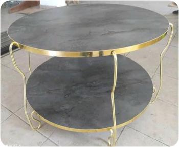 Steel & Stone- Coffee Table